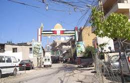 شرطة سير في مخيم البرج الشمالي الفلسطيني
